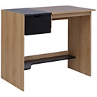 more details on Office Storage Desk with Laptop Tray - Two Tone.