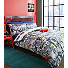 more details on Volkswagen City Multicoloured Bedding Set - Kingsize.