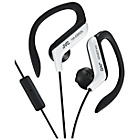 more details on JVC HA-EBR25 Sport Headphones with Mic and Remote - White.