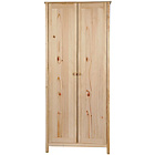 more details on HOME New Scandinavia 2 Door Wardrobe - Pine.