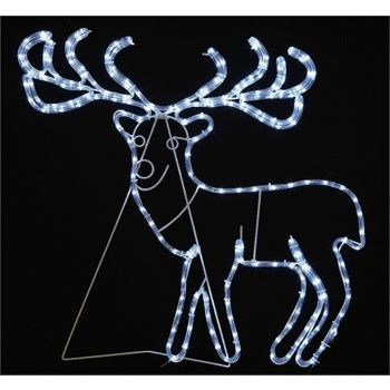 Silhouette Reindeer Rope Light