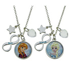 more details on Frozen Best Friend Necklace - Set of 2.
