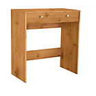 more details on HOME New Malibu 2 Drawer Dressing Table - Pine Effect.