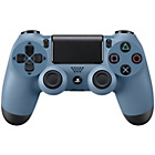 more details on Sony PS4 DualShock 4 Wireless Controller - Blue and Grey.