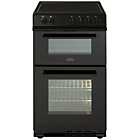 more details on Belling FS50EDOFC Electric Cooker - Black.