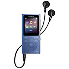 more details on Sony NW-E394 Walkman 8GB MP3 Player - Blue.