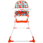 more details on My Babiie MBHC1F Foxy Compact Highchair - Orange.