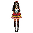 more details on Women's Day of The Dead Senorita Costume - Size 10-12.