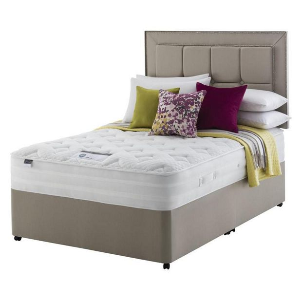 Buy Silentnight Elkin 2000 Pkt Memory Foam Kingsize Divan At Your Online Shop For