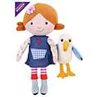 more details on Lilys Driftwood Bay Talking Poseable Lily Soft Toy with Gull