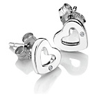 more details on Accents Silver Heart Stud Earrings.
