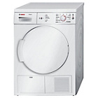 more details on Bosch WTE84106GB 7KG Condenser Tumble Dryer - White.