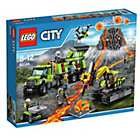 more details on LEGO City Volcano Exploration Base - 60124.