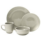 more details on Collection Bosa 16 Piece Stoneware Dinner Set - Ash White.