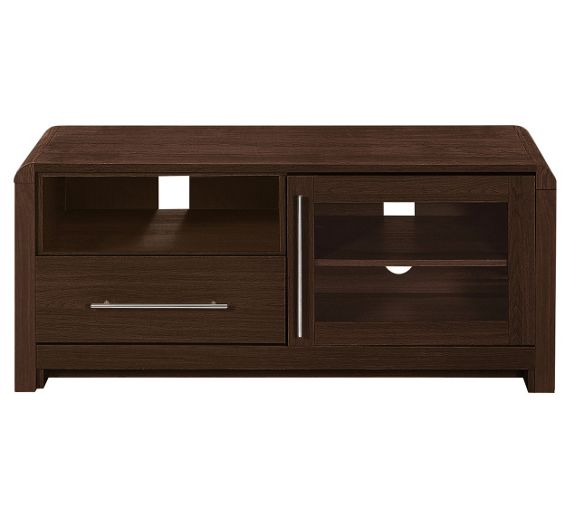 Buy heart of house elford tv entertainment unit walnut Walnut effect living room furniture