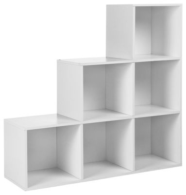 buy home squares 6 cube unit white at your. Black Bedroom Furniture Sets. Home Design Ideas