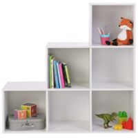 Phoenix Step 6 Cubby Spaces Storage (White)