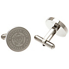 more details on Stainless Steel Leicester City Crest Cufflinks.