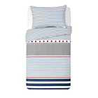 more details on Collection Stars and Stripes Twin Pack Bedding Set - Toddler