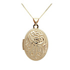 more details on 9ct Gold Family Locket Pendant.