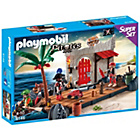 more details on Playmobil Pirate Fort Superset Playset - 6146.