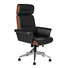 Heart of House Stamford Extra Large Wood Panel Office Chair