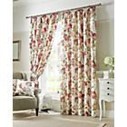 Carnaby Lined Pencil Pleat Curtains - 168x183cm - Chintz