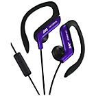 more details on JVC HA-EBR25 Sport Headphones with Mic and Remote - Blue.