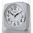 more details on Seiko White Sweep Second Hand Square Alarm Clock.