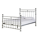 more details on Heart of House Conan Double Bed Frame - Chrome.