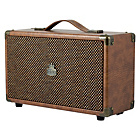 more details on GPO Westwood Mini Wireless Speaker - Brown.