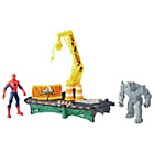 more details on Spider-Man Web City Rhino Rampage Set.