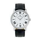 more details on Accurist Men's Black Strap Silver-White Dial Watch.