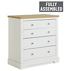 more details on Heart of House Westbury 4 Drawer Chest - White.