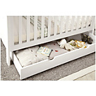 more details on Mamas & Papas Harrow Underbed Storage Unit - White