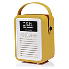 more details on VQ Retro Mini DAB Radio - Yellow.