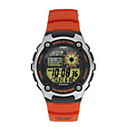 more details on Casio AE-2100W-4AVEF Orange Strap Watch.