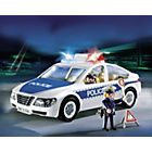 more details on Playmobil Police Car Playset - 5184.