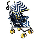 more details on My Babiie MB02 Blue Chevron Stroller.