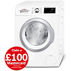 more details on Bosch WAT28660GB 8KG 1400 Spin Wachine Machine - White.