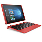 more details on HP Pavilion x2 Intel Atom 10 inch 2GB 32GB SSD 2-in-1 - Red.