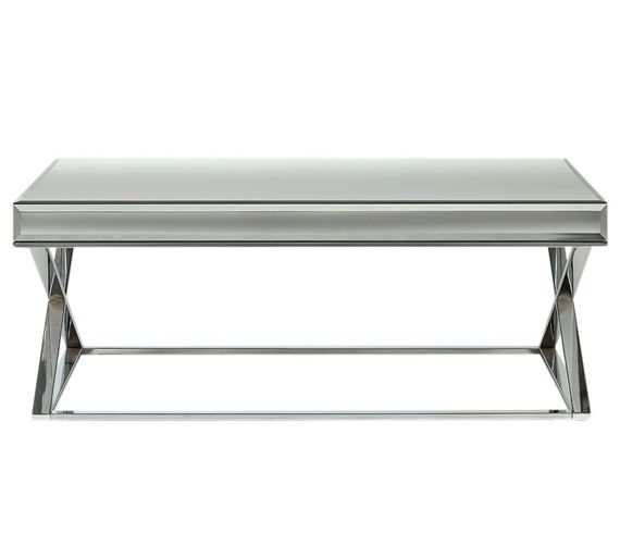 Buy Heart Of House Piazzo Mirrored Top Coffee Table At