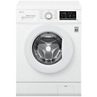 more details on LG FH4G7QDN0 7KG 1400 Spin Washing Machine - White.