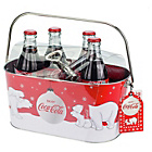 more details on Coca-Cola Ice Bucket, Bottle Opener & 4x 330ml Bottles.