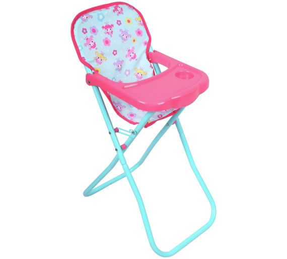 buy dollsworld deluxe high chair at your. Black Bedroom Furniture Sets. Home Design Ideas