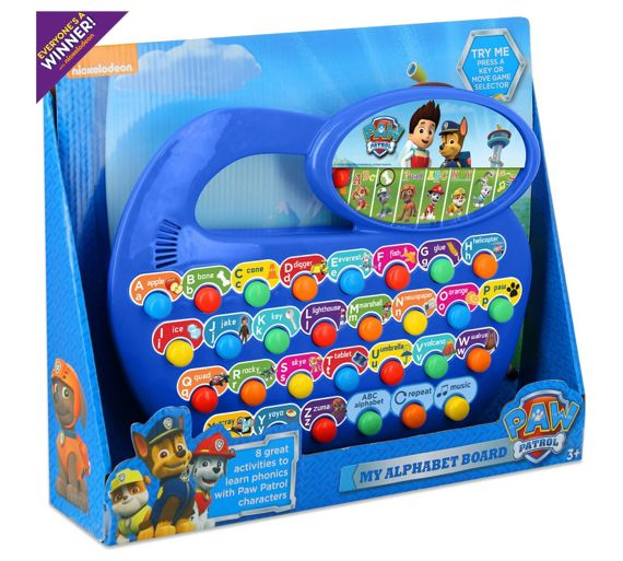 buy paw patrol fun phonics at your online. Black Bedroom Furniture Sets. Home Design Ideas