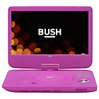 more details on Bush 10 Inch Portable DVD Player - Pink.