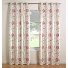 Julian Charles Santorini Lined Curtains - 167x228cm - Coral