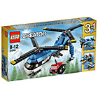 more details on LEGO Creator Twin Spin Helicopter - 31049.