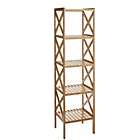 more details on Collection 4 Tier Bamboo Shelf Unit.